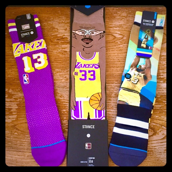 Stance Other - 🔥🏀 NEW Stance Socks Ltd Edition Lakers 3pk 🏀🔥